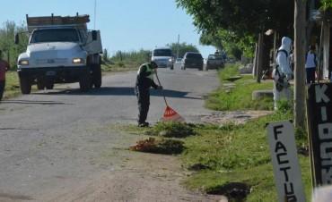 El Municipio inicia la reparación de la avenida Vigalondo