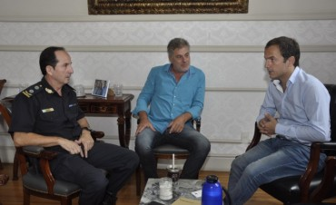 El Intendente se reunió con el jefe de la Departamental Zárate – Campana