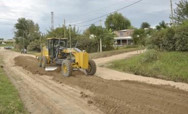 San Jacinto: mejoraron calles y limpiaron zanjas y terrenos