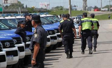 Campana recibió seis nuevos móviles policiales