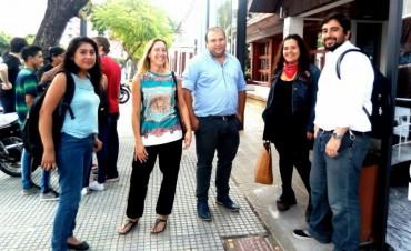 Jóvenes de Campana visitaron la ex ESMA