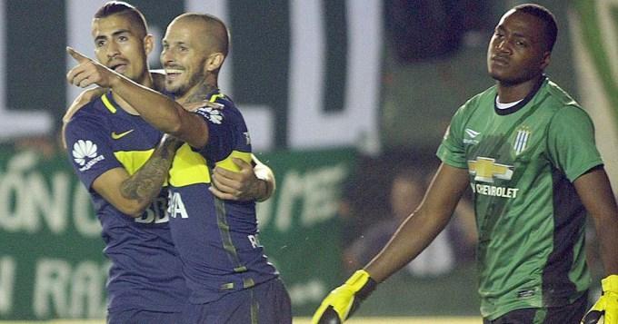 Benedetto volviò a dejar a Boca Juniors en lo más alto del torneo