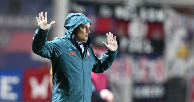 Diego Aguirre: No me planteo irme si quedamos afuera