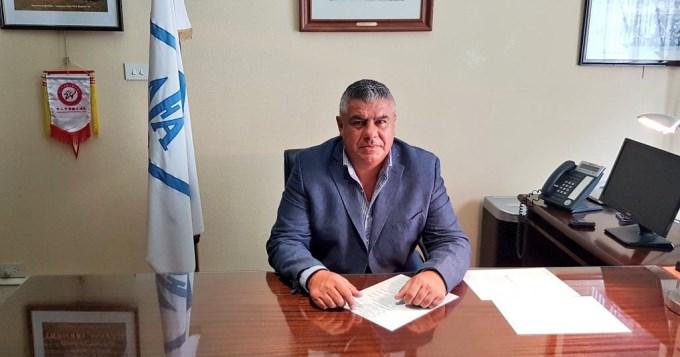 Primer día de gestión deChiqui Tapia