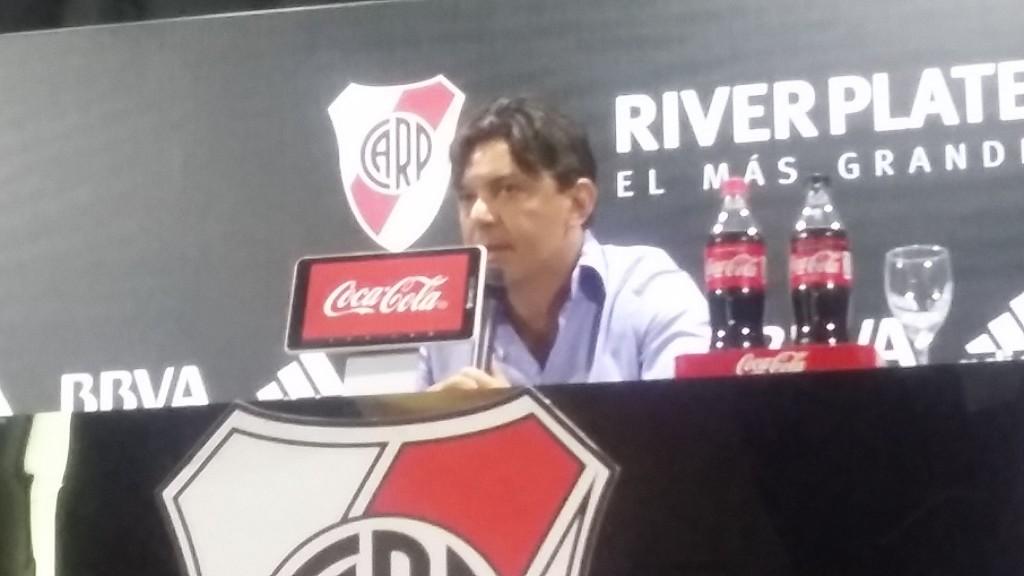 Marcelo Gallardo analizó el triunfo de River Plate