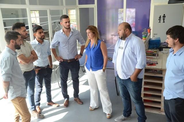 Concejales Florencio Varela y Berisso visitaron el Espacio Campana Joven