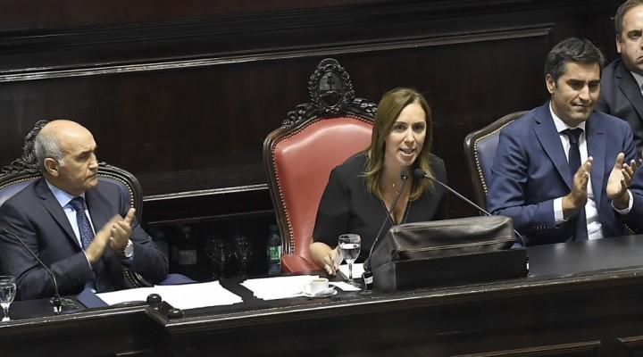 María Eugenia Vidal  repasó lo actuado y trazó los lineamientos que imprimirá a su gestión durante el 2018