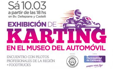 Con la participación de pilotos regionales, mañana habrá una exhibición de karting