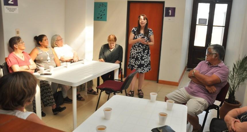 Comenzó el taller de psicomotricidad para adultos mayores