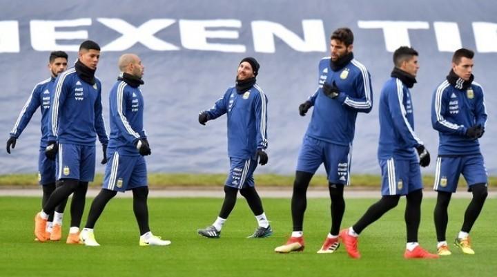 La Selección Argentina y su primer examen ante Italia
