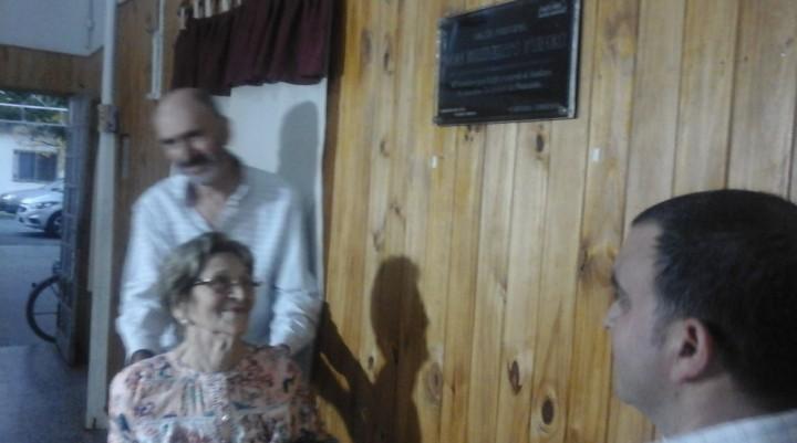 Acto en la Sociedad de Fomento del Barrio Dallera-Romano