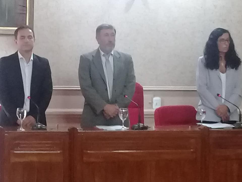 Se realizó la sesión inaugural del Honorable Concejo Deliberante