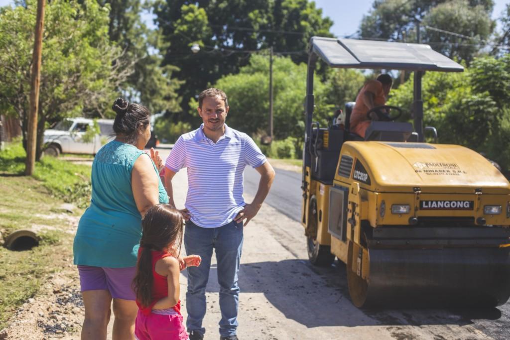 El barrio Otamendi ya cuenta con más de 40 cuadras pavimentadas