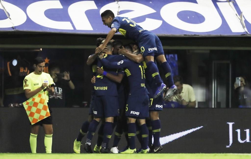 Boca Juniors goleó a San Lorenzo de Almagro por 3 a 0