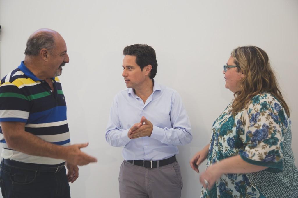 """""""El intendente Abella está realizando una inversión histórica en educación"""""""
