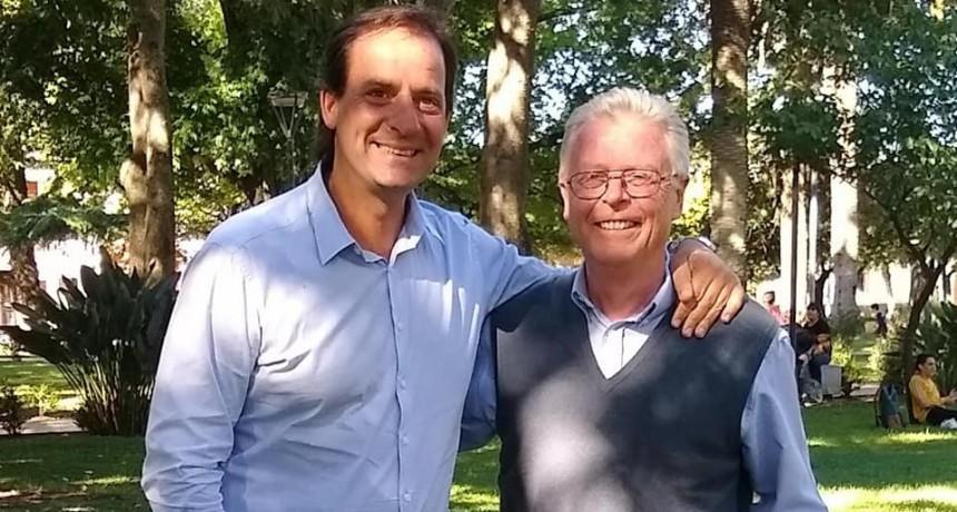 Rubén Romano se reunió con el Intendente de Escobar