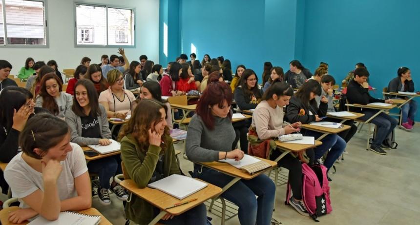 El 3 de abril comienzan las clases del CBC en Campana