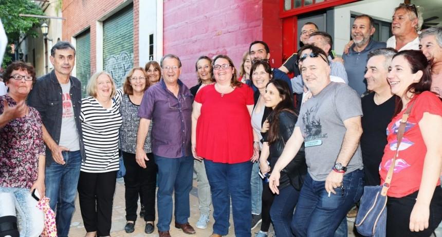 En el Día del militante radical, Buzzini recordó al ex presidente Raúl Alfonsín