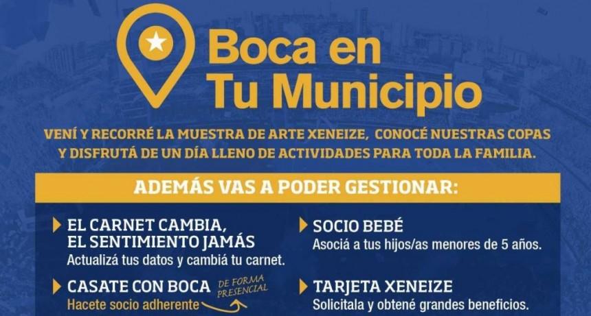 Mañana se inaugura la muestra itinerante de Boca Juniors