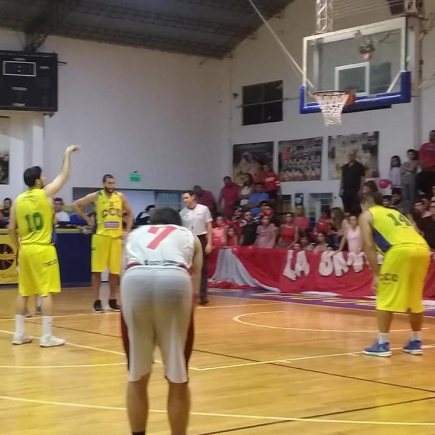 Sportivo Pilar venció al Club Ciudad de Campana por 74 a 62 y jugará el Final Four