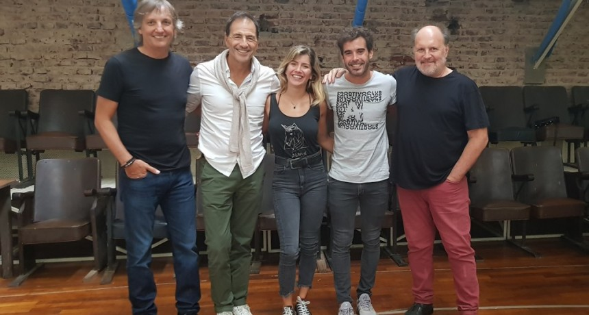 DEPARTAMENTO DE SOLTERO con Nicolás Cabré, Laurita Fernández y Martín Seefeld