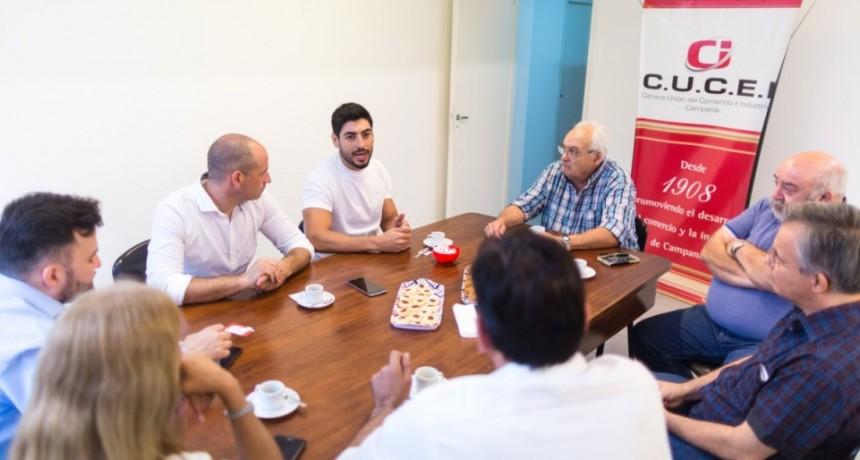 Facundo Moyano en Campana