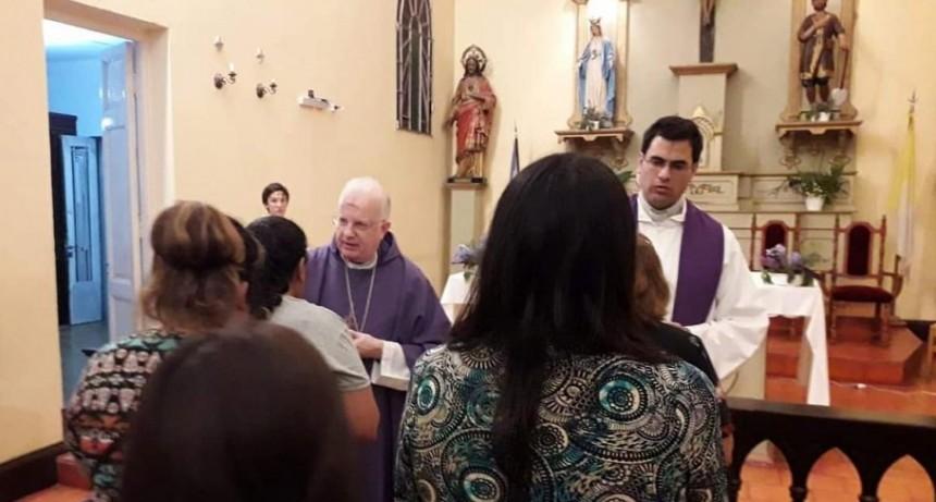 El lunes 25 de marzo el Obispo Pedro Laxagüe presidirá la Santa Misa