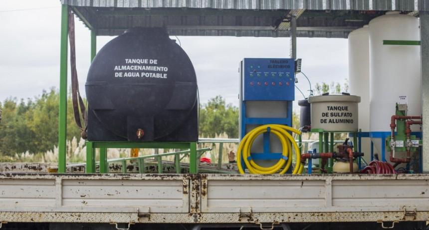 Se inauguró una nueva planta potabilizadora de agua en la isla
