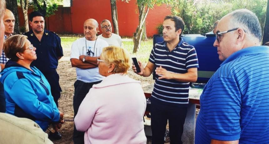Abella anunció la instalación de 50 cámaras para darle más seguridad a los vecinos de La Argentina y Lubo