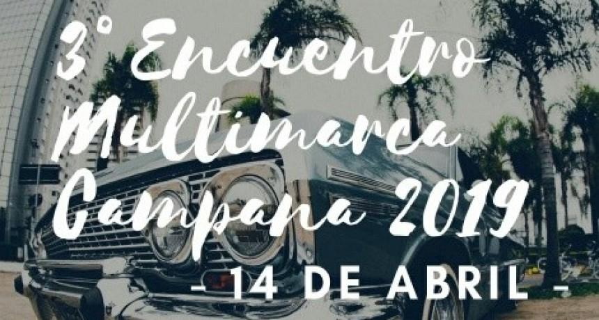 3º Encuentro Multimarca Campana en el Club Ariel del Plata