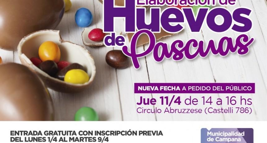 Habrá una nueva capacitación gratuita de elaboración de huevos de pascuas