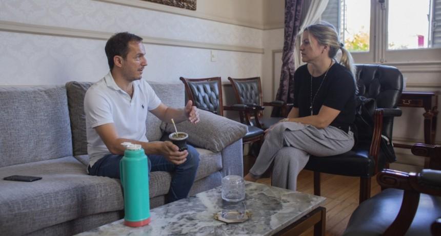 Abella se reunió con la diputada Carolina Píparo por temas de seguridad