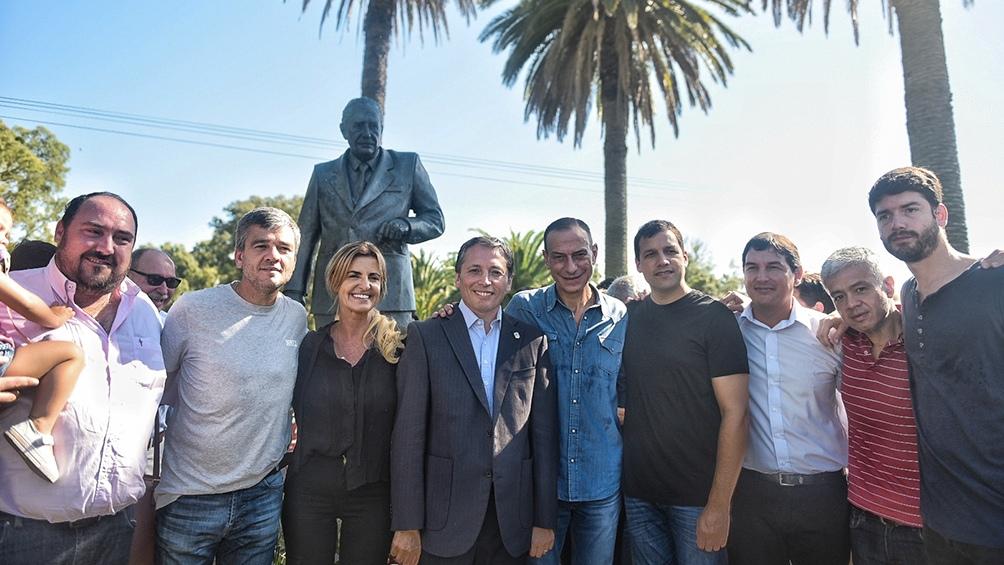 El PJ bonaerense evocó a Alfonsín en Chascomús