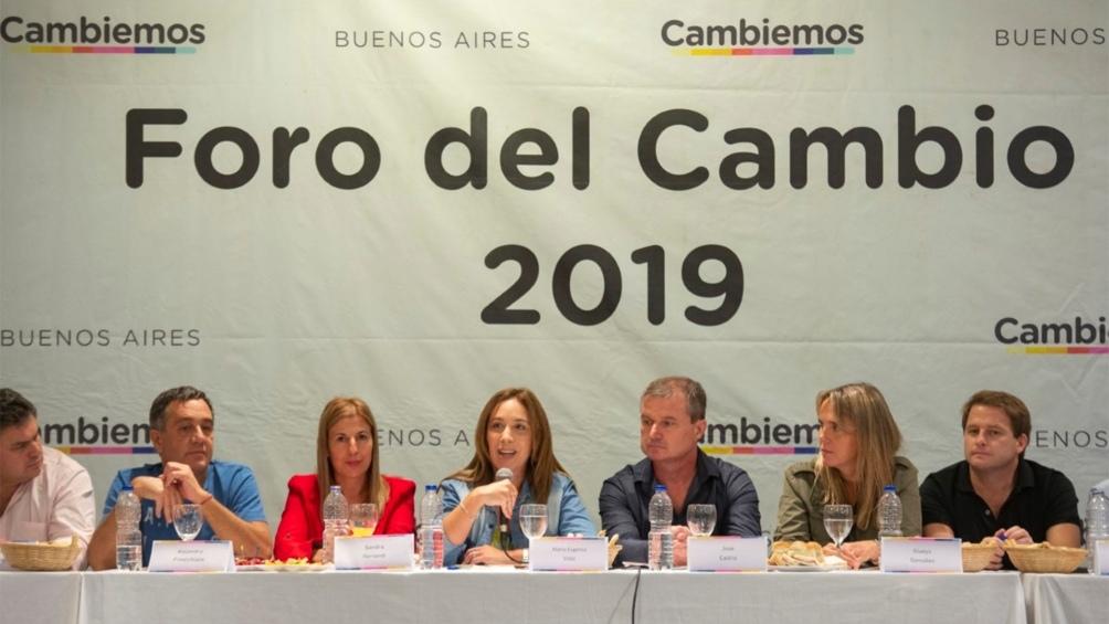 Vidal: hay un ciclo que se terminó en la Argentina
