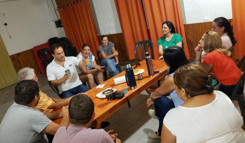 El Intendente se reunió con vecinos del barrio Santa Lucía