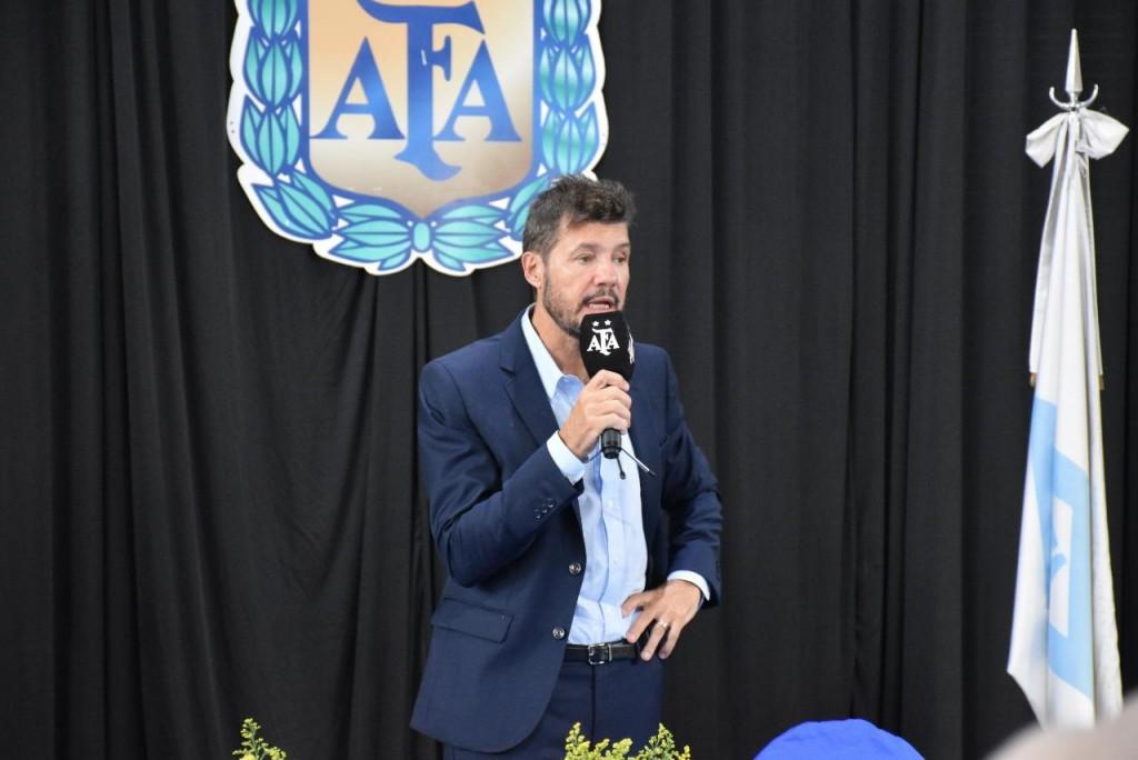 Marcelo Tinelli, nuevo presidente de la Súperliga Argentina