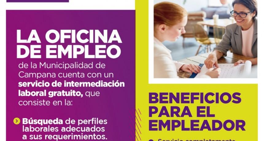 El Municipio ofrece un servicio de intermediación gratuito entre empleador y empleado