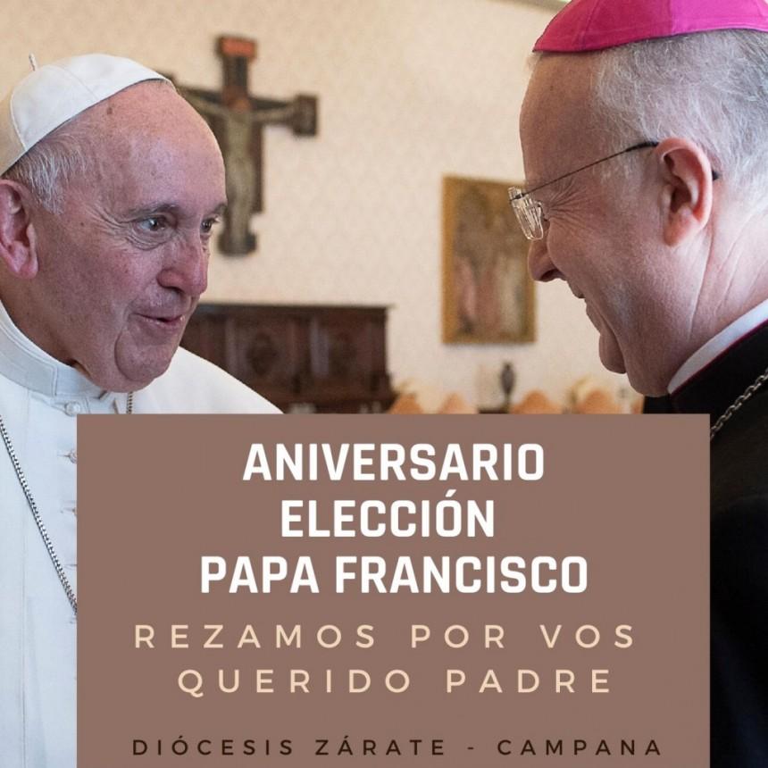 13 DE MARZO : CELEBRACIÓN ANIVERSARIO ELECCIÓN DEL PAPA FRANCISCO
