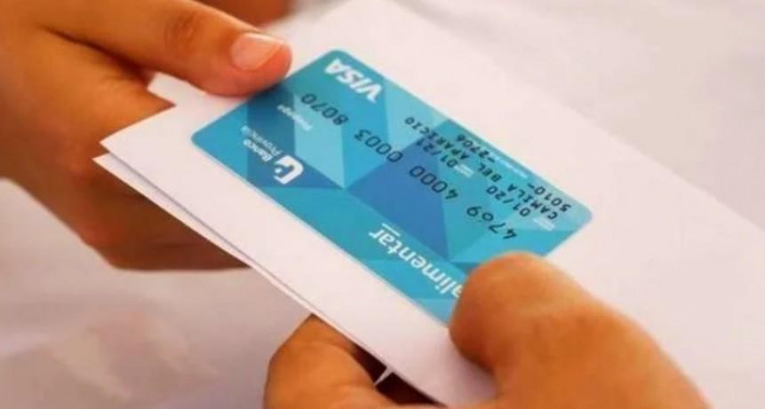 La Tarjeta Alimentaria se entregará a través del Correo Argentino