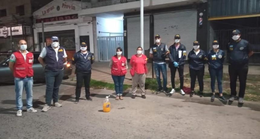 Cruz Roja Filial Campana colabora con los organismos públicos de nuestra Ciudad