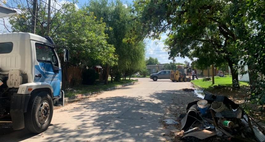 Dengue: el Municipio realiza operativos especiales de limpieza