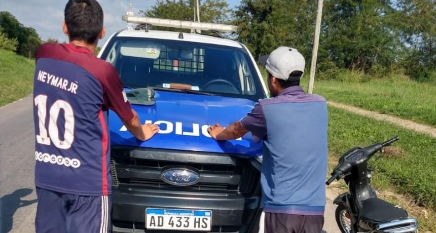 Con más de 250 detenidos, continúan las aprehensiones por no respetar la cuarentena
