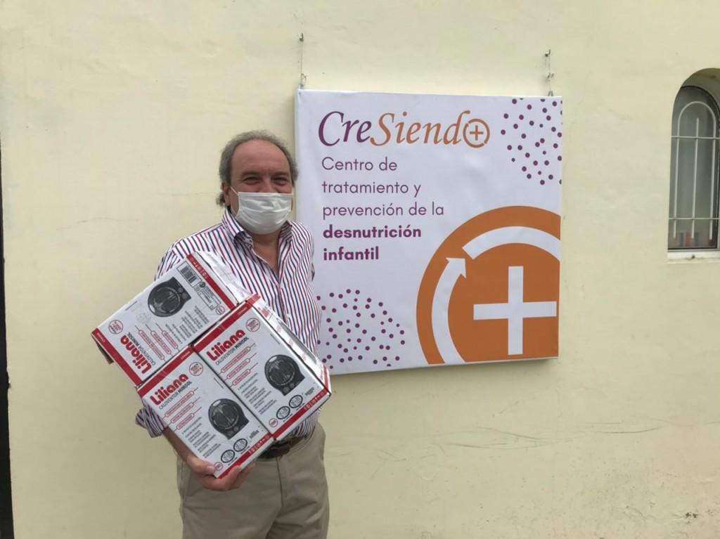Se entregaron donaciones a instituciones locales a través del Banco Credicoop Cooperativo Limitado