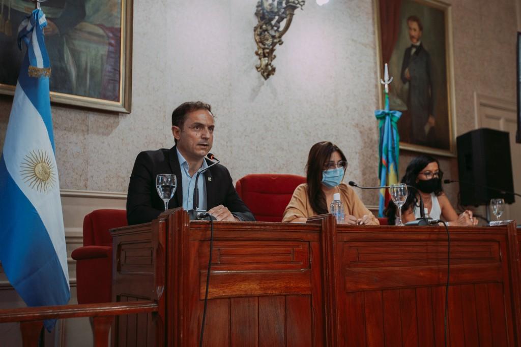 Abella inauguró el año legislativo con importantes anuncios