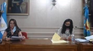 Se realizó la primera sesión ordinaria del Honorable Concejo Deliberante