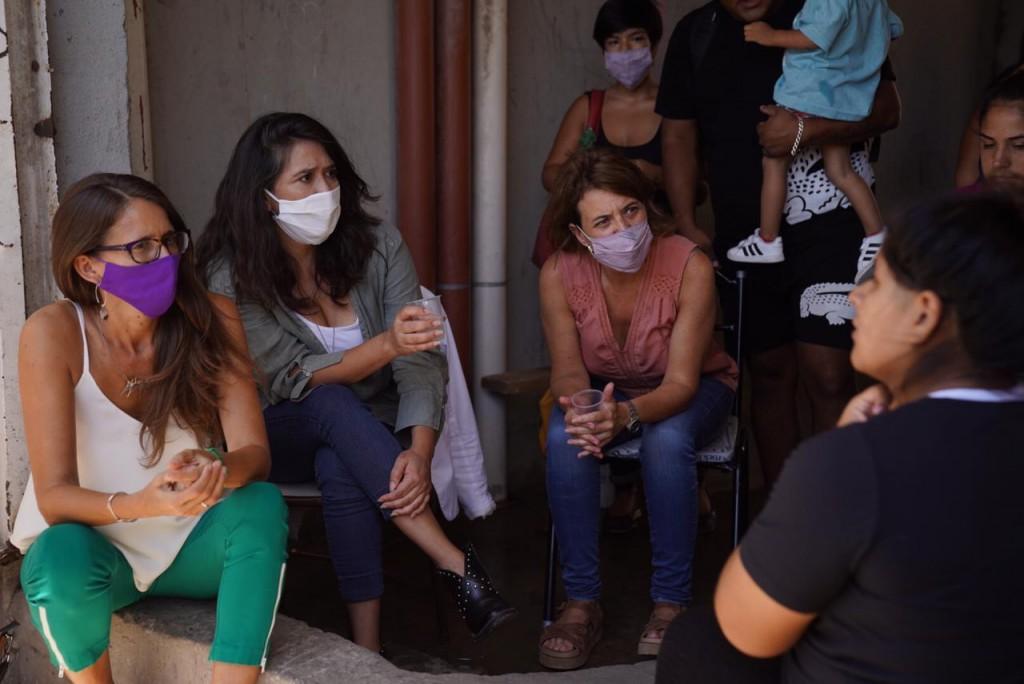 REUNIÓN CON MUJERES QUE SUFRIERON SITUACIONES DE VIOLENCIA DE GÉNERO