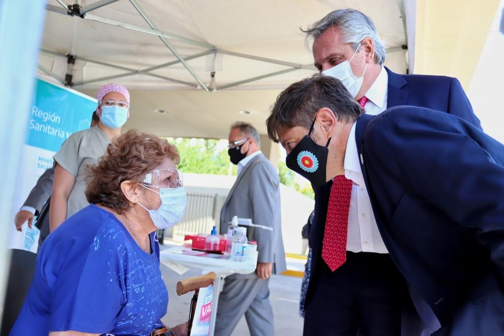 ITUZAINGÓ Argentina superó el millón de personas inmunizadas contra el Covid-19