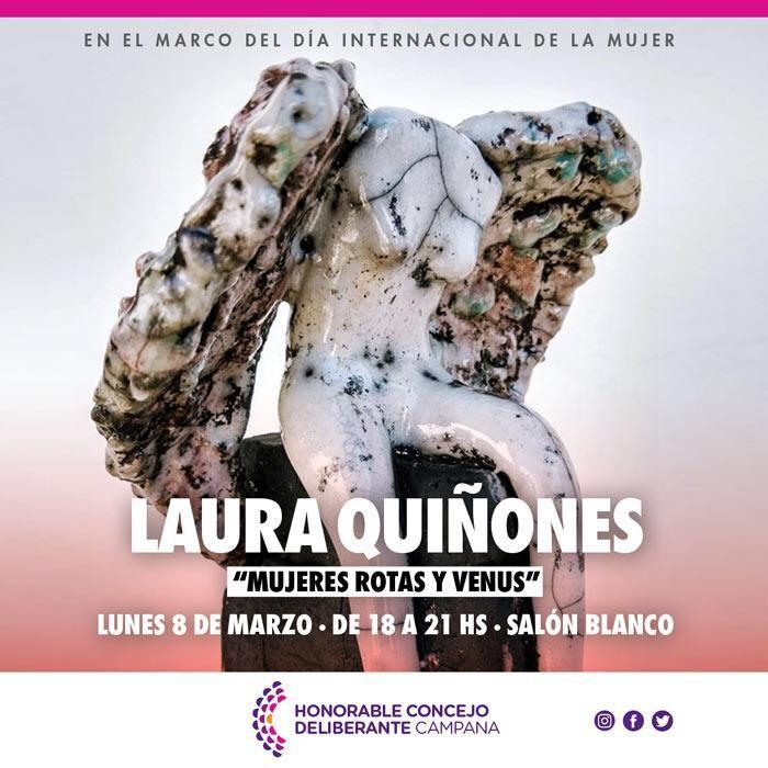 Por el  Día de la Mujer, este lunes habrá una exposición artística en el HCD