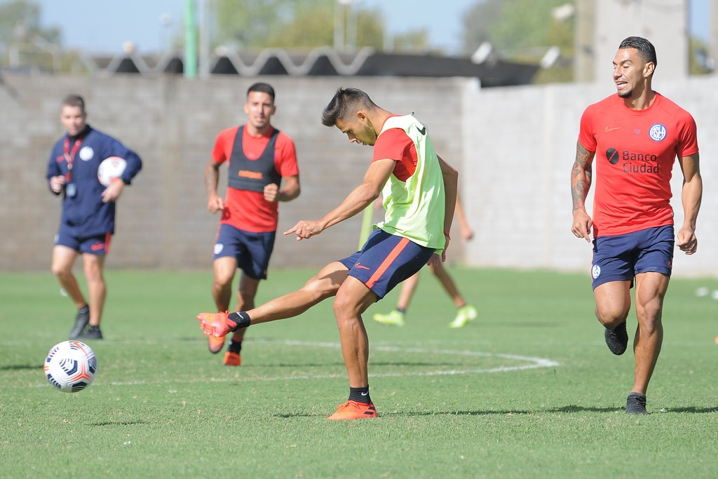 San Lorenzo : Todo listo para el debut Copero