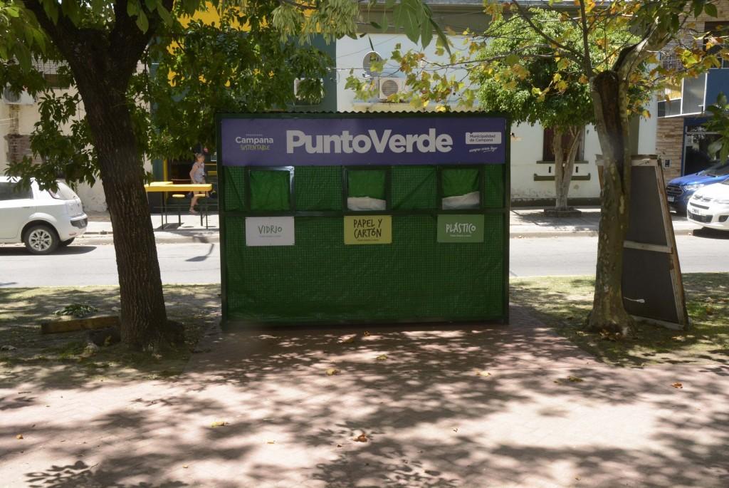 El Municipio suma cada vez más Puntos Verdes